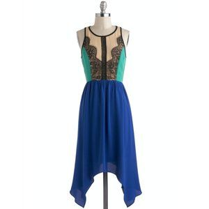 Modcloth Get In The Mix Dress by C. Luce